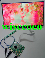 NEW 13.3 inch 1920*1080 IPS Screen Display 2 HDMI Driver Board LCD Panel Module Monitor for Laptop PC Raspberry Pi 3 Car DIY