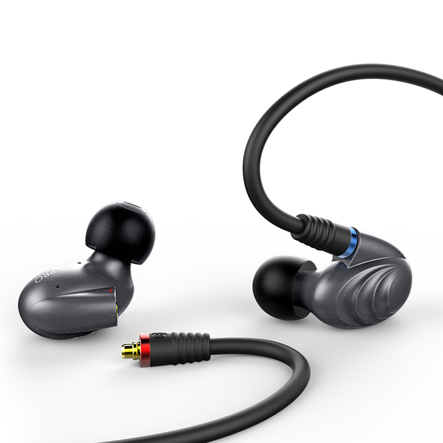 FiiO F9 Pro Triple Pilote Hybride In-Ear Monitors earphone 1 synamic and 2 balanced armature drivers 3