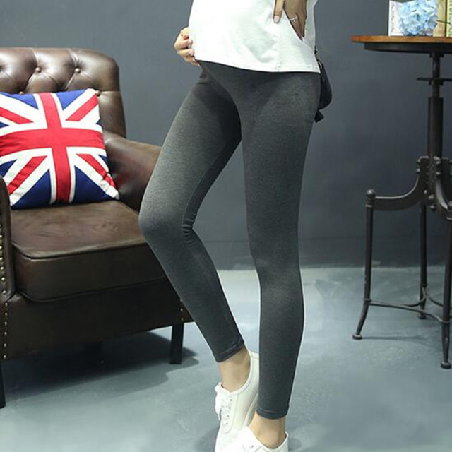 2016 Autumn New Fashion Comfortable Gravida Maternity Leggings Care Belly Leggings Clothes for Pregnant Women Plus Size 5 Colors