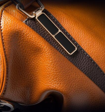 de couro de cera de Bag Estilo 1 : Real Natural Genuine Leather Womens Handbags Women Bag Cacual Tote