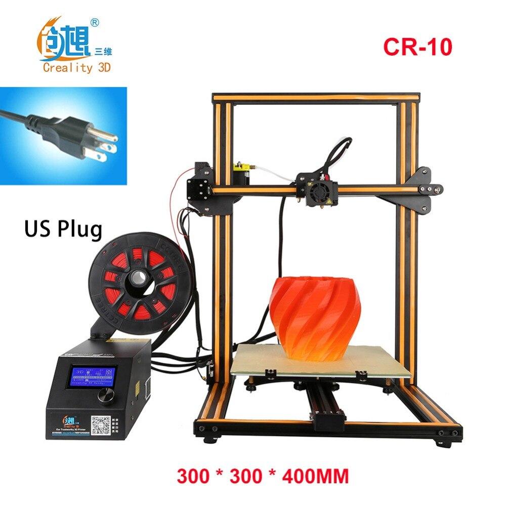 Créalité 3D CR-10 S4 3D Imprimante Grand Prusa I3 DIY Kit Grand BRICOLAGE De Bureau 3D Imprimante DIY L'éducation CR-10 Série