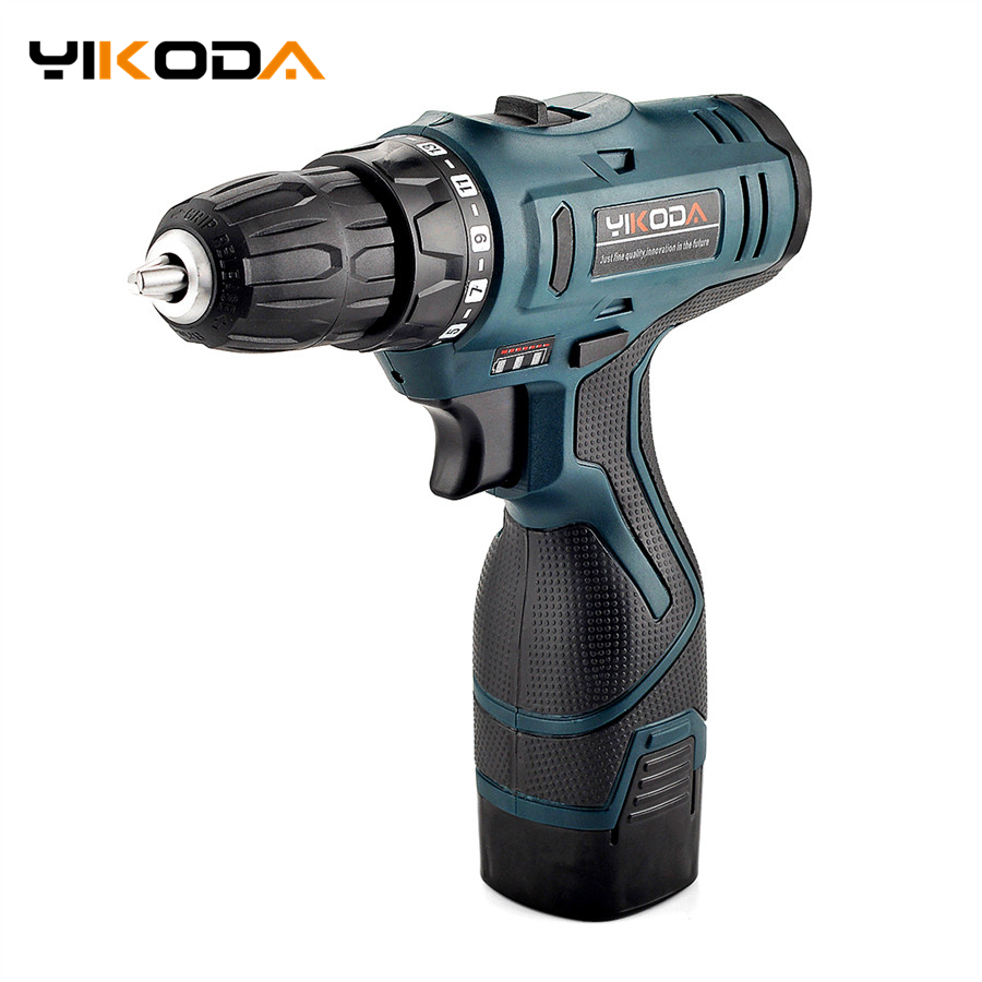 16.8V Double Speed Rechargeable Electric Screwdriver Lithium Battery*2 Cordless Screwdrivers Furadeira Power Tools