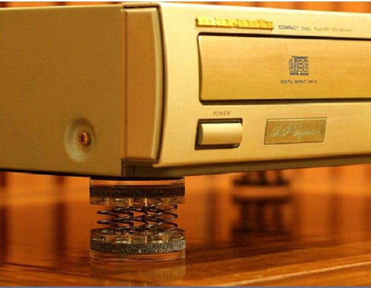 XSSH Audiophile shock spikes spring damping pad HIFI audio Stand Feet speaker spike audio CD amplifier foot pad