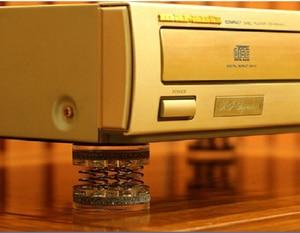 Image 3 - 4 sztuk/8 sztuk XSSH Audiophile shock spikes wiosna tłumienia pad HIFI audio stojak stóp głośnik spike płyta audio CD wzmacniacz podnóżek