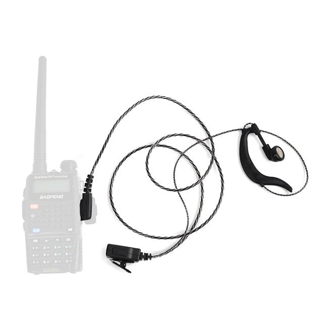 Hys Bf Gc08b Anti Radiation Ham Radio Earpiece 2 Pin Earphone Two