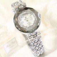 Pearl Bracelet Fashion Crystal Wristwatch Diamond Clock Quartz Watches Women Watches Ladies Relogios Femininos Female Watches