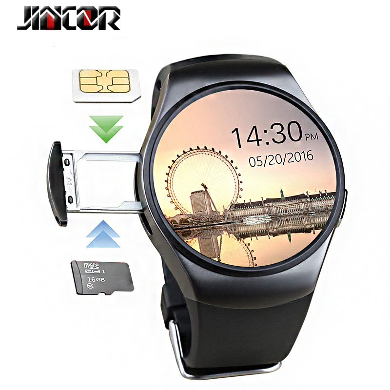 2017 kw18 smart watch Bluetooth waterproof SIM 3G call TF card heart rate GPS Sport smartwatch  For windows phone Android  IOS 3g android smart watch phone wifi bluetooth smartwatch zgpax s99 heart rate tracker gps sport wristwatch hd camera sim
