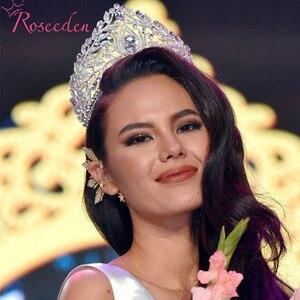 Image 3 - Miss univers Philippines couronnes classique couleur argent strass diadèmes RE998
