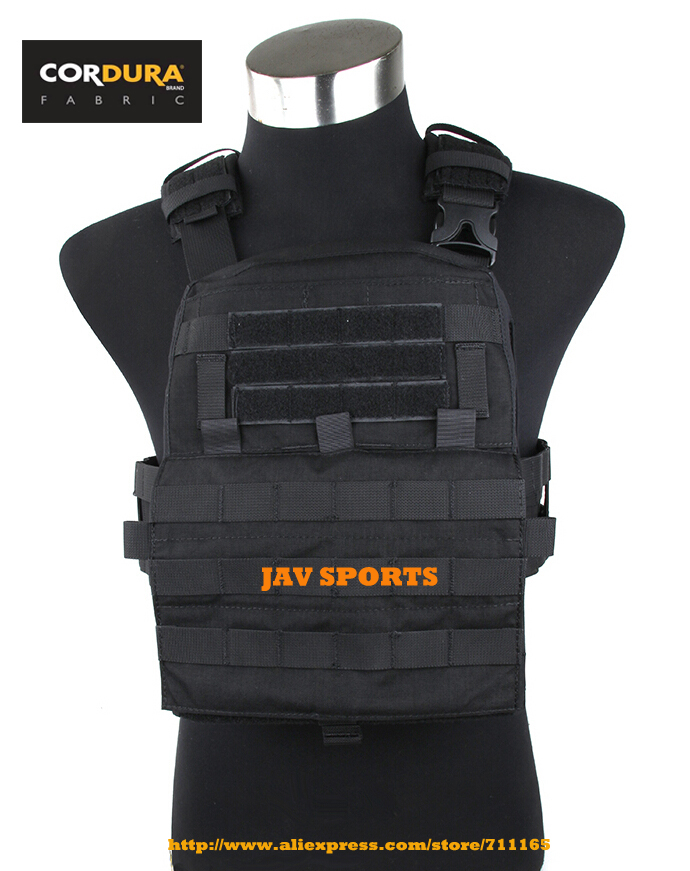 TMC Adaptive Vest 2018 Ver. 500D Cordura MOLLE Vest Black Tactical Military AVS Vest(SKU050756)