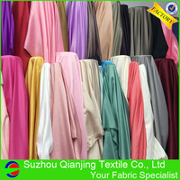 48 Colors High Quality Polyester Lining Dull Satin Fabric