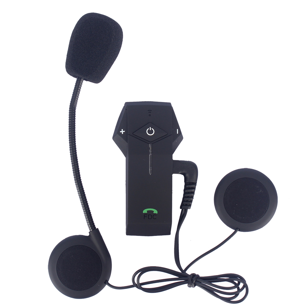 FreedConn Moto Casque Casque 1000 m COLO Bluetooth Interphone NFC FM Radio BT Intercommunicador Pour Smart Phone/GPS/ MP3