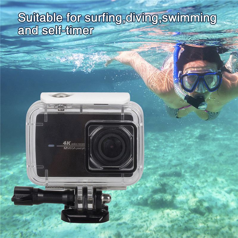 For XiaoYi 4K Sports Camera yi 4k Action Camera Mount Waterproof Case TypeB Waterproof Case Action Camera Accessories yi 4k Case