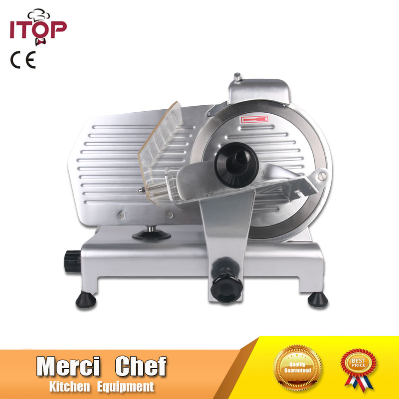 Food Machine Commercial Meat Slicer Household Electric Meat Cutter Sliceable Pork Frozen Meat Cutter Slicer Cutting Machine 110V manual frozen meat slicer household meat