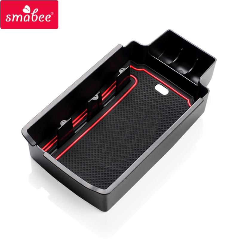 SMABEE Para AUDI Q5 Q3 2009to2017 Reposabrazos Caja de - Accesorios de interior de coche - foto 4