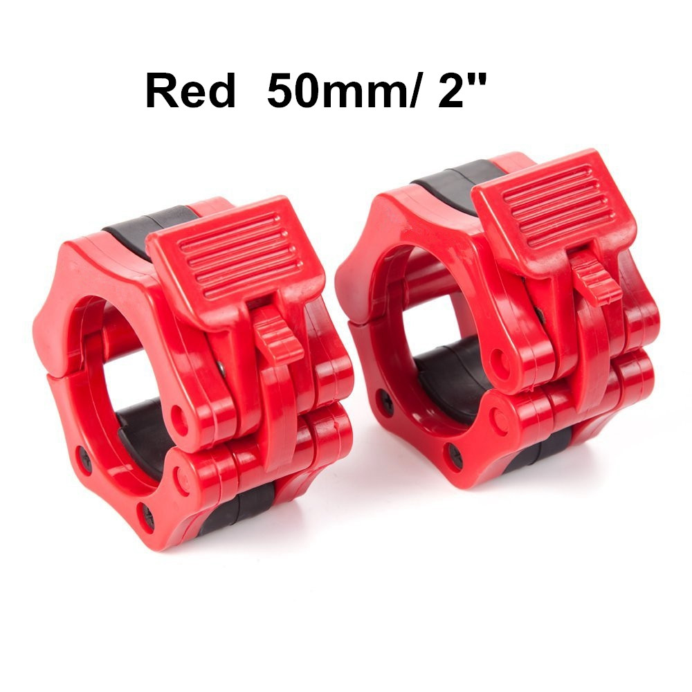 """4 Pair 1//2/"""" Lock Barbell Collars Dumbbell Clamp Collars Weight Bar Clips SALE"""