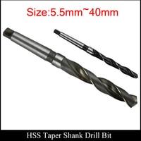 24 2mm 24 3mm 24 4mm 24 5mm 24 6mm 24 7mm 24 8mm torno máquina herramienta CNC HSS cono de acero de alta velocidad cono Twist Drill Bit