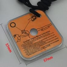Outdoor Signal Mirror Multifunctional Emergency Rescue Practical Emergency Kit R