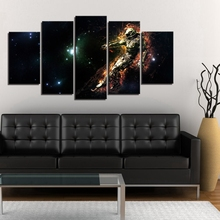 Cool Astronauts in Space Picture Wall Art Print Comic Animation Cartoon Poster Canvas Painting for Office Shop Wall Decor Custom astronauts in space
