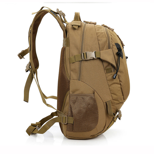 MAGIC UNION Men and Women Unisex Military Backpack Canvas Bag Trekking Rucksacks 40L Backpacks Men Backpacks Men Bags Fashion 2