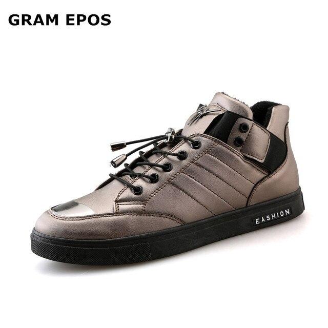 40766c1f1 GRAM EPOS HOMENS INVERNO QUENTE sapatos de pelúcia primavera outono sapatilha  Tenis Masculino Esportivo trainer Zapatos