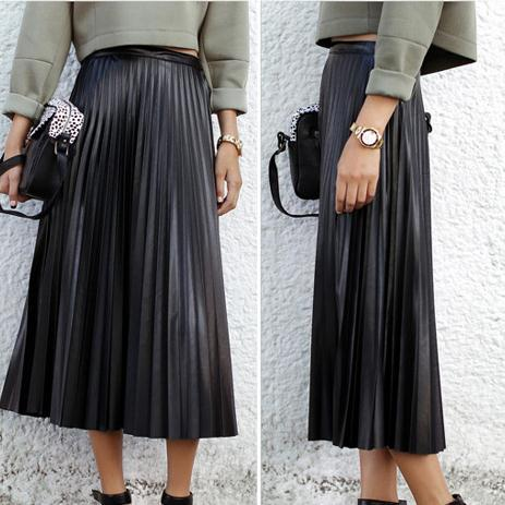 Popular Pu Leather Maxi Skirt-Buy Cheap Pu Leather Maxi Skirt lots ...