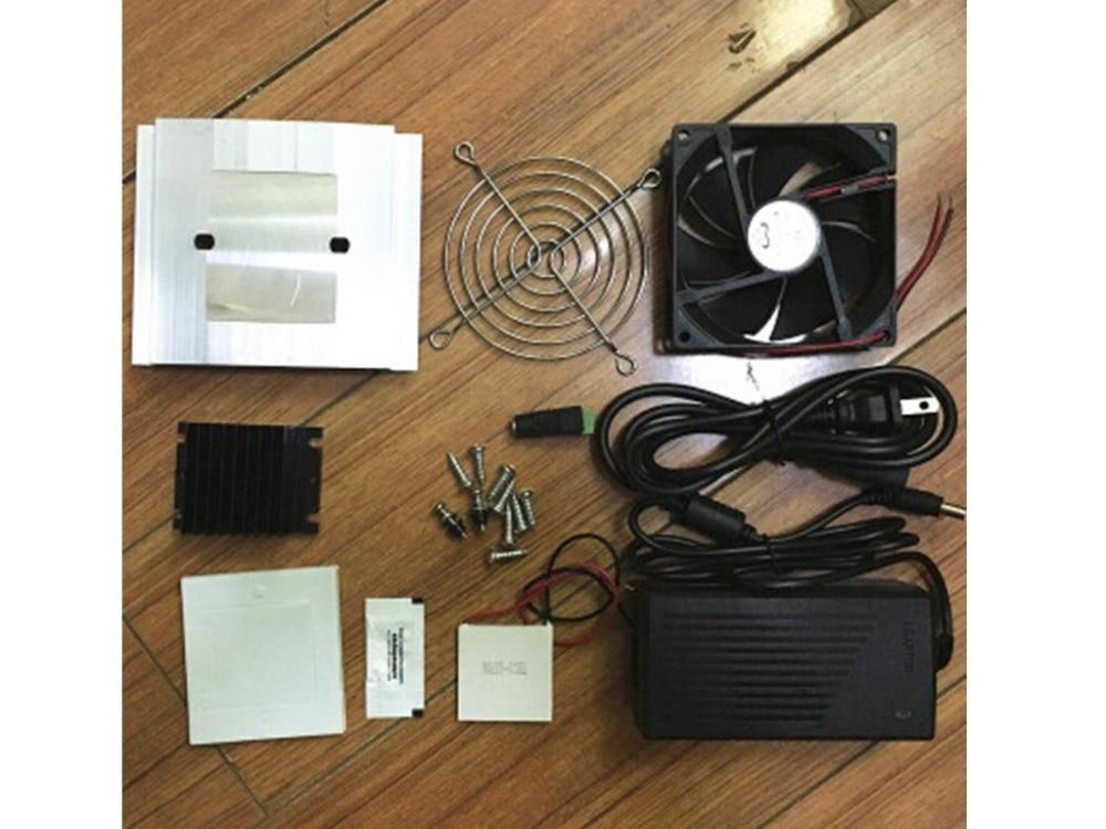 12V 60W Fridge Refrigeration Fast Cooling System DIY Kit