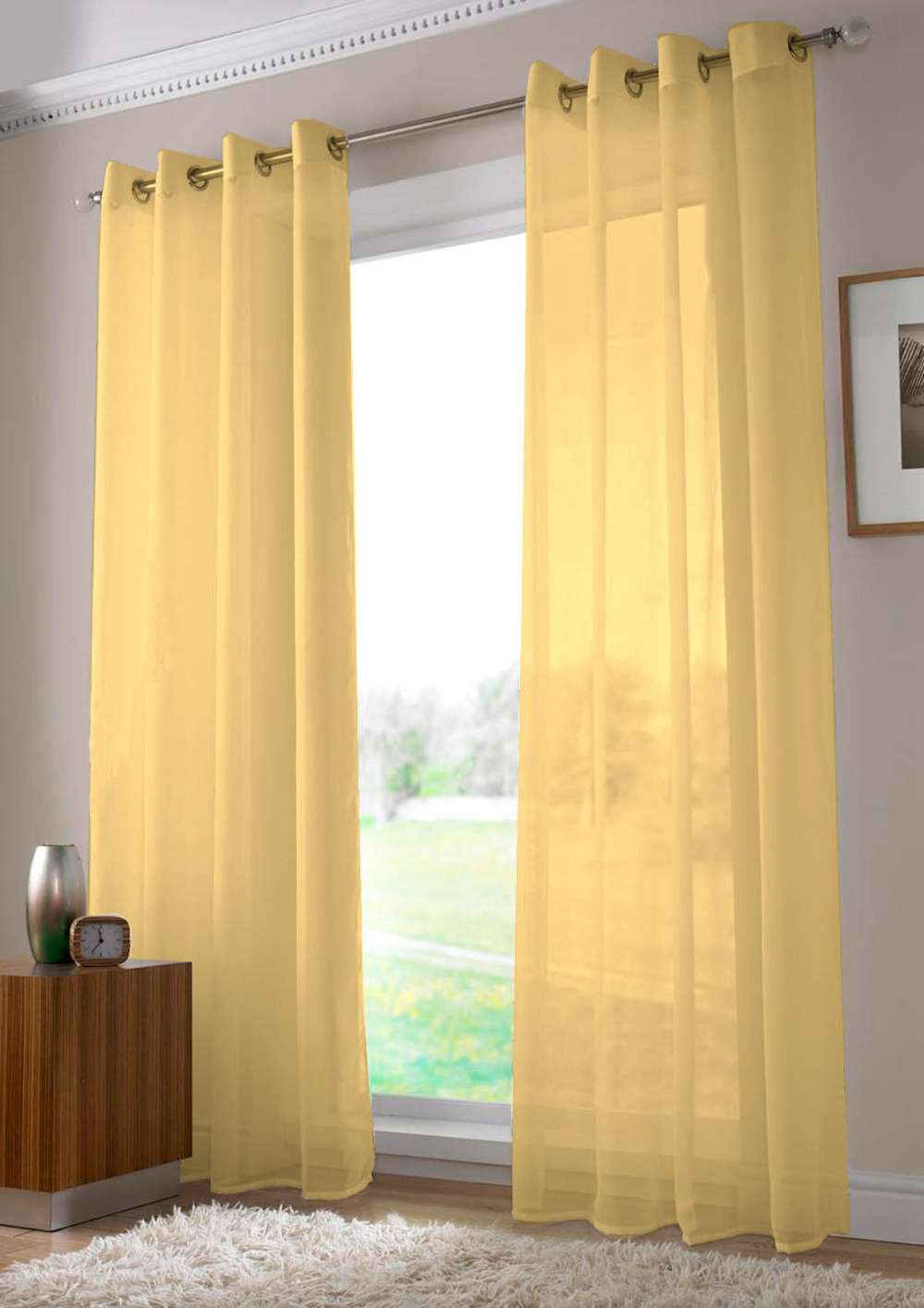 organza window fire with collection gold curtains cur backdrops x retardant premium pockets sheer rod curtain panels panel products
