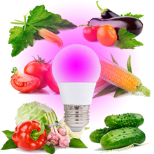 Full Spectrum E27 85V-250V LED Plant Grow Light Bulb For Indoor Garden Plants Flower Hydroponics 5W 7W