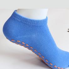 Promocja skarpety sportowe antypoślizgowa amortyzacja bandaż Pilates balet dobry chwyt dla dziecka mężczyźni i kobiety bawełniane skarpety skarpety na trampolinę tanie tanio SOCKS Chłopcy Joga Cotton air permeability sweat absorption anti odour anti slip support