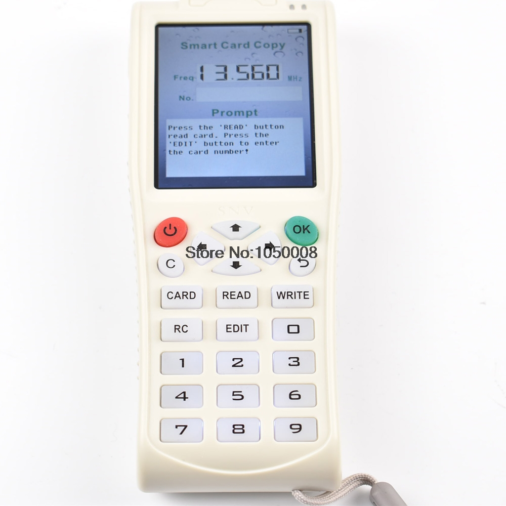 English Version Newest iCopy 3 with Full Decode Function Smart Card Key Machine RFID NFC Copier
