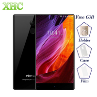 VKworld Mix Plus Volledige Edgeless Smartphone 3 GB + 32 GB Vingerafdruk ID 5.5 inch Android 7.0 MTK6737 Quad Core Dual SIM OTA Cellphone