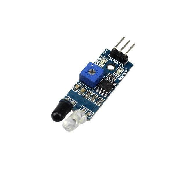 10 teile/los Smart Auto Roboter Reflektierende Photoelektrische 3pin IR Infrarot Hindernis Vermeidung Sensor Modul für arduino Diy Kit