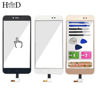 5 5 Mobile Touch Glass For Xiaomi Redmi Note 5A Touch Screen Glass Digitizer Panel Front