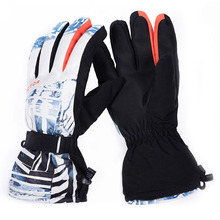 Men Ski Gloves Snowboard Women Winter Waterproof Windproof  Motorcycle Thermal Skiing