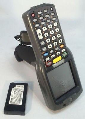 Motorola Symbol MC3090G PDA Laser Wireless Barcode Scanner Reader MC3090 CE 5 wireless barcode scanner bar code reader 2 4g 10m laser barcode scanner wireless wired for windows ce blueskysea free shipping