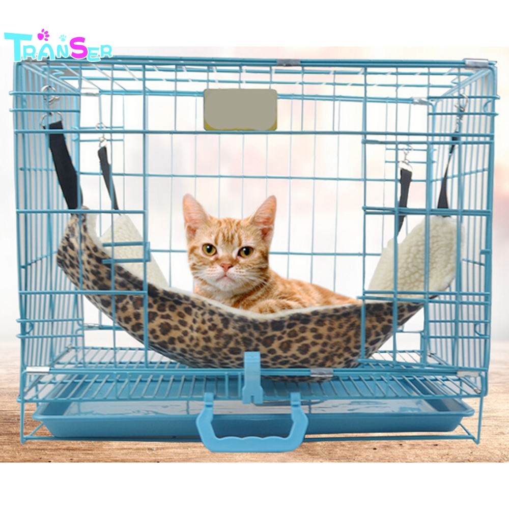 Bird Supplies Learned Pet Cage Bed Mat Pad Hanging Ferret Hammock Bed Soft Cool Comfortable Mat Pad Hammock Use Kitten Parrot Small Animals Supplies Bird Cages & Nests