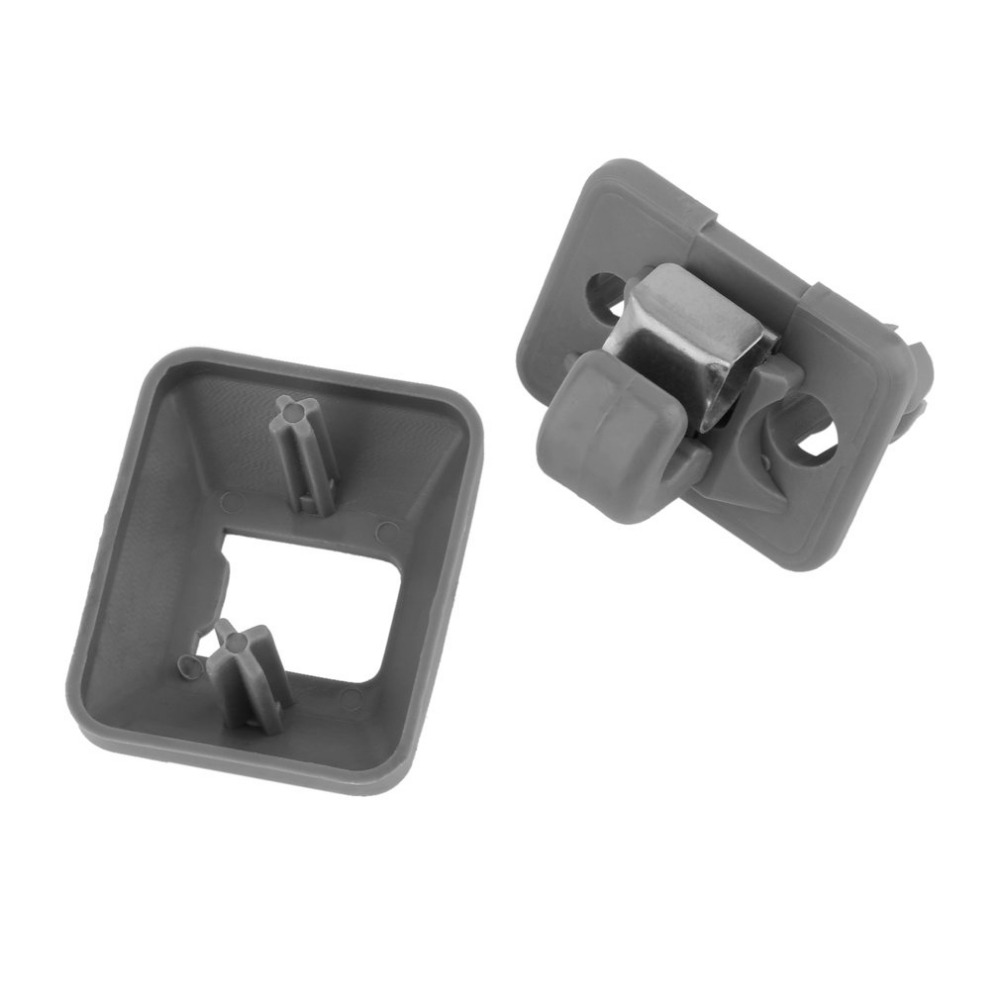 Beige gray inner sun visor hook clip bracket fixing clip perfect replacement of hook clip