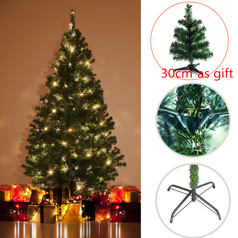 2.1 Meter 210CM Artificial Christmas Tree 800 Tips Branch Decorations for Home Decorations Xmas Tree for New Year Festival