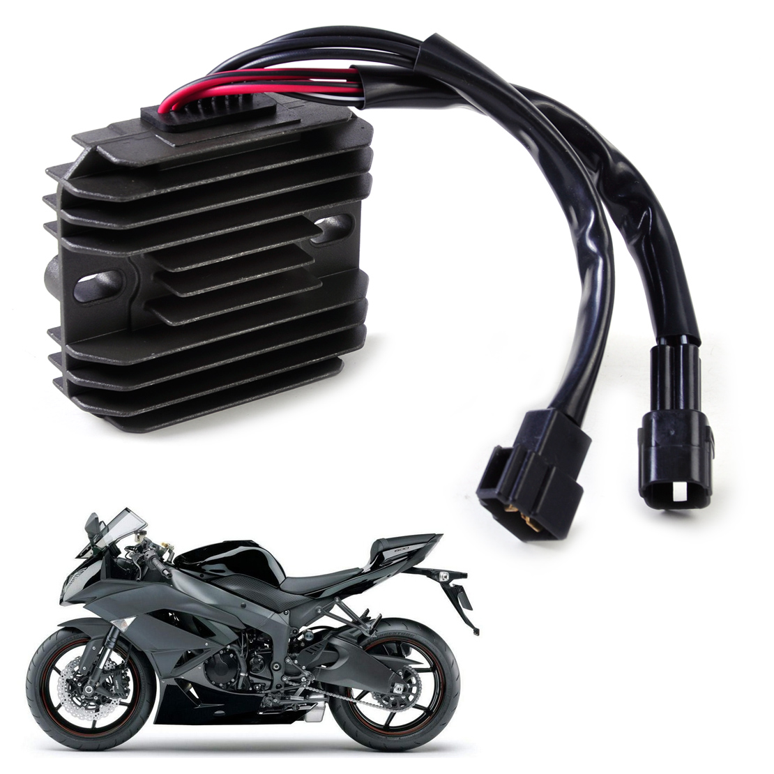 Citall Motorcycle Voltage Rectifier Regulator Fit For