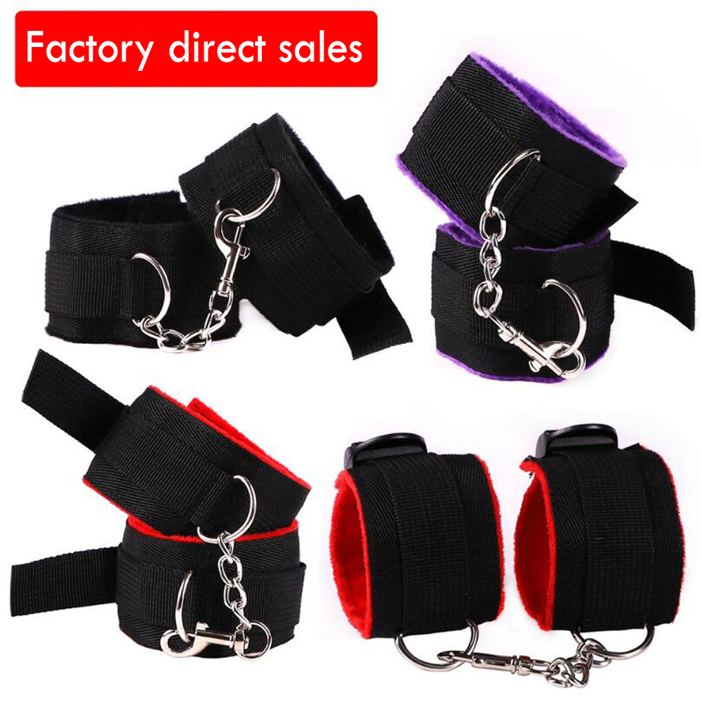 Adjustable Handcuff BDSM Bondage Sex Toy Exotic Lingerie Accessories For Adult Sex Game