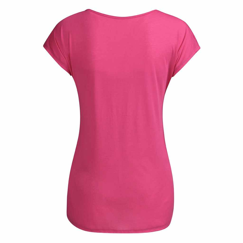 Women Pregnancy Maternity Shirt Summer Short Sleeve Cute Print T-shirt Pregnant breastfeeding clothes Tops camiseta lactancia HH