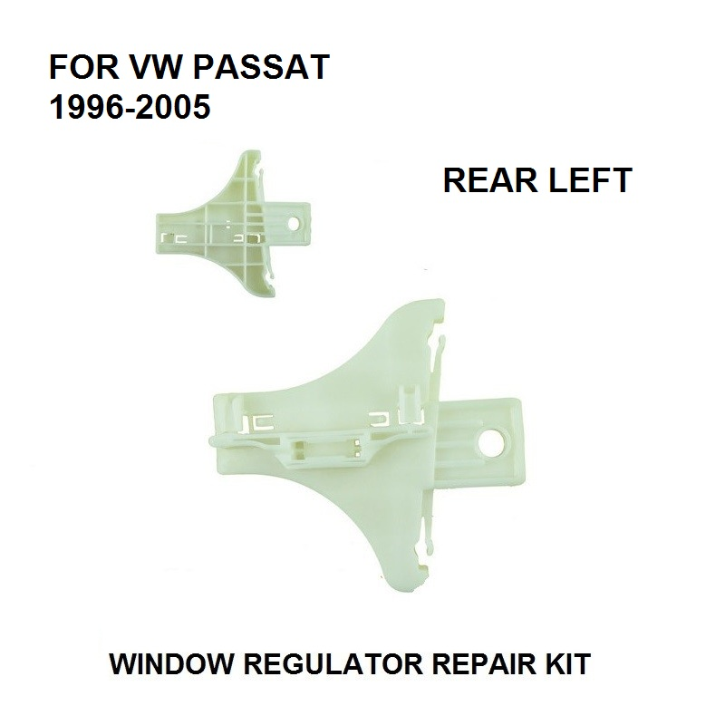 X1 PIECES FOR VW PASSAT WINDOW REGULATOR REPAIR KIT CLIP REAR LEFT SIDE NEW FROM 1996-2005