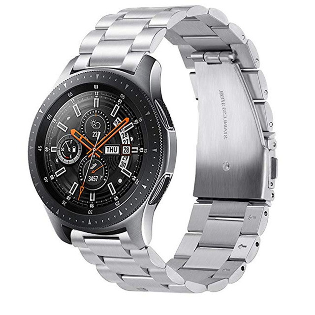 ASHEI 22mm Metal Watchband For Samsung Galaxy Watch 46mm Band Stainless Steel St