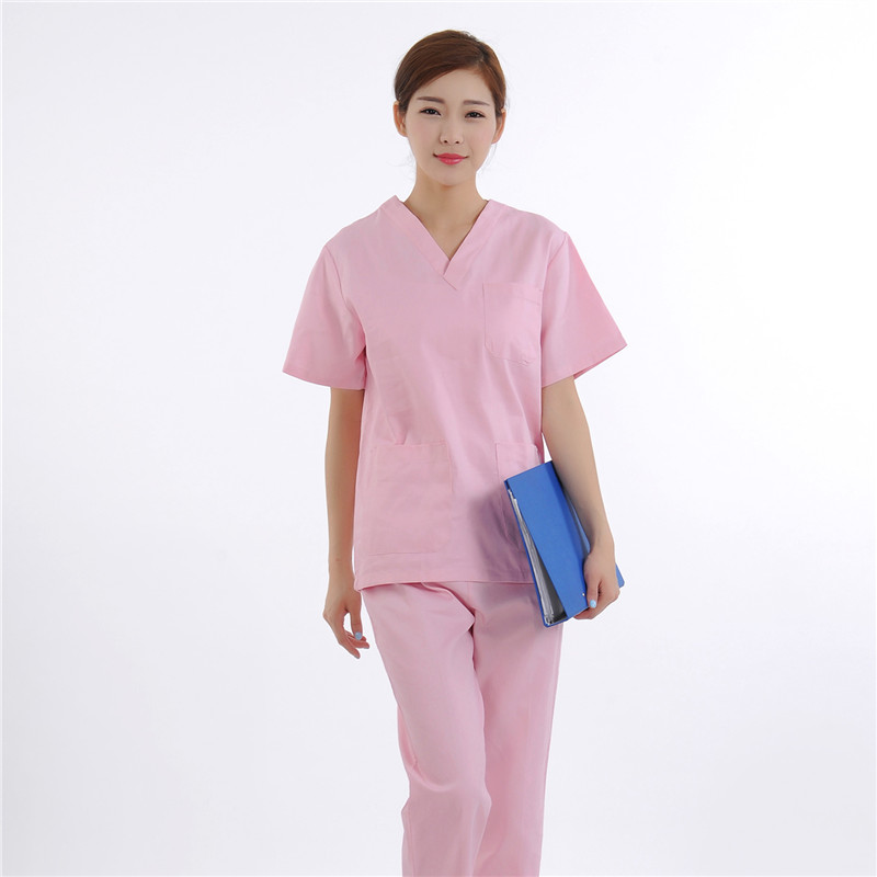 Heartbrand hospital nursing scrubs medical clothing doctor nurse overalls Medical/women work blouses SPA Technician work clothes