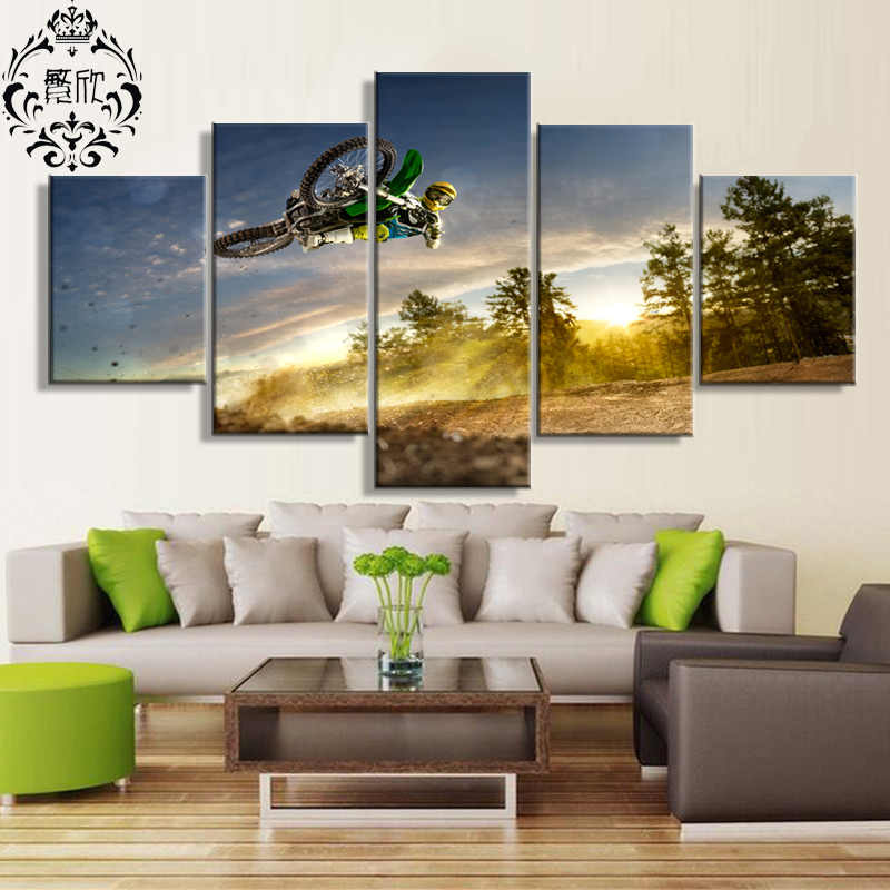 Dirt Cheap Home Decor: Canvas Painting Poster Wall Art Decoration Modular