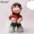 New Eletrônico Inteligente Macaco Brinquedos de Pelúcia para o Bebê Recém-nascido com Vidro de Cor Marrom Brinquedos de Pelúcia para Presentes do Aniversário Dos Miúdos