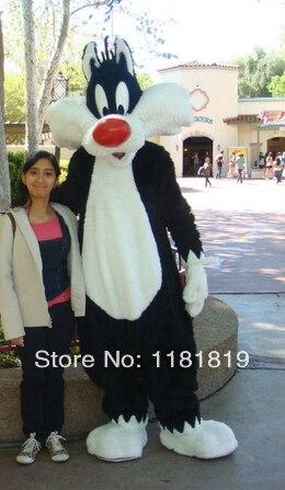 Mascotte Sylvester le chat mascotte costume personnalisé anime cosplay mascotte dessin animé thème fantaisie robe