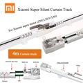 4 м супер тихий электрический занавес трек для Xiaomi aqara мотор DOOYA/KT82/DT82 TN/tv/LE, автоматическая занавеска система рельс, умный дом