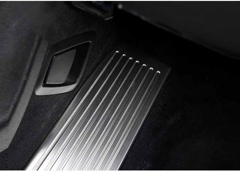 Для Volvo XC60 XC90- S90 V90 Нержавеющая сталь автомобиля акселератора подставка для ног, для езды на велосипеде педали тормоза крышка