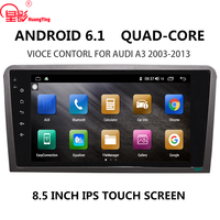 IPS 8.5'' Android 6.0 no CAR DVD multimedia stereo radio full HD video GPS navi carplay WIFI 4G System For Audi A3 8P 2003 2012